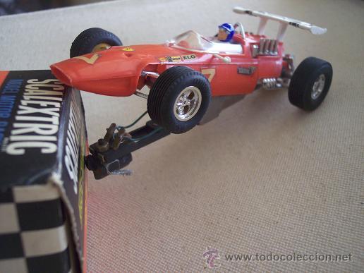 Scalextric: FERRARI GP C-9 RACE-TUNED SCALEXTRIC MINIMODELS LTD. MUY DIFICIL. UNICO. - Foto 3 - 26479084