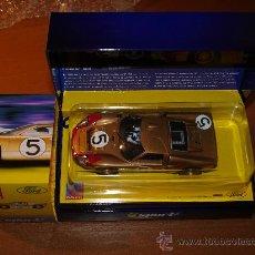 Scalextric: FORD GT 40 MKII, 24 HORAS DE LEMANS, DORADO #5, SCALEXTRIC SUPERSLOT ED. SPORT. Lote 19535694