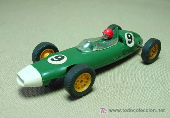 SLOT CAR TRI - ANG, SCALEXTRIC, BRM, B.R.M., C - 72, FABRICADO EN INGLATERRA (Juguetes - Slot Cars - Scalextric SCX (UK))
