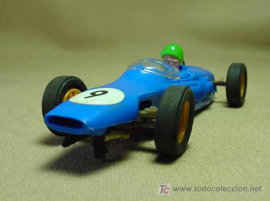 SLOT CAR TRI - ANG, SCALEXTRIC, COOPER MM, C - 66, FABRICADO EN INGLATERRA (Juguetes - Slot Cars - Scalextric SCX (UK))