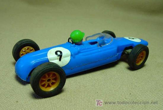 Scalextric: SLOT CAR TRI - ANG, SCALEXTRIC, COOPER MM, C - 66, FABRICADO EN INGLATERRA - Foto 3 - 19532713