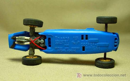 Scalextric: SLOT CAR TRI - ANG, SCALEXTRIC, COOPER MM, C - 66, FABRICADO EN INGLATERRA - Foto 5 - 19532713