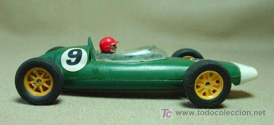 Scalextric: SLOT CAR TRI - ANG, SCALEXTRIC, BRM, B.R.M., C - 72, FABRICADO EN INGLATERRA - Foto 3 - 19532709