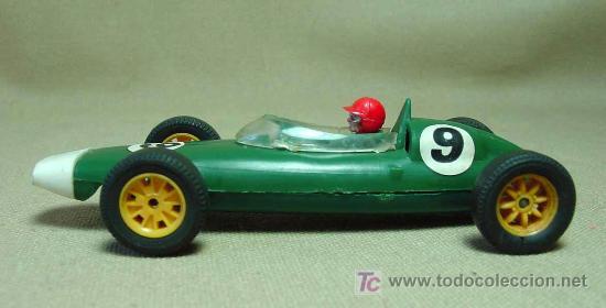 Scalextric: SLOT CAR TRI - ANG, SCALEXTRIC, BRM, B.R.M., C - 72, FABRICADO EN INGLATERRA - Foto 4 - 19532709