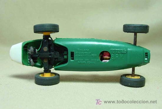 Scalextric: SLOT CAR TRI - ANG, SCALEXTRIC, BRM, B.R.M., C - 72, FABRICADO EN INGLATERRA - Foto 5 - 19532709