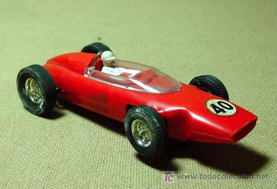 RARO SLOT CAR, JOUEF, FERRARI, FORMULA 1, FABRICADO EN ESPAÑA (Juguetes - Slot Cars - Scalextric SCX (UK))