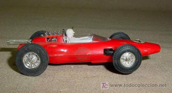 Scalextric: RARO SLOT CAR, JOUEF, LOTUS, FORMULA 1, FABRICADO EN ESPAÑA - Foto 3 - 22243675
