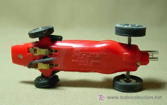 Scalextric: RARO SLOT CAR, JOUEF, LOTUS, FORMULA 1, FABRICADO EN ESPAÑA - Foto 5 - 22243675