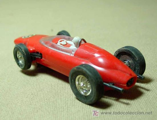 Scalextric: RARO SLOT CAR, JOUEF, FERRARI, FORMULA 1, FABRICADO EN ESPAÑA - Foto 2 - 22243674