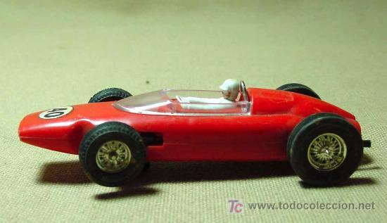 Scalextric: RARO SLOT CAR, JOUEF, FERRARI, FORMULA 1, FABRICADO EN ESPAÑA - Foto 3 - 22243674