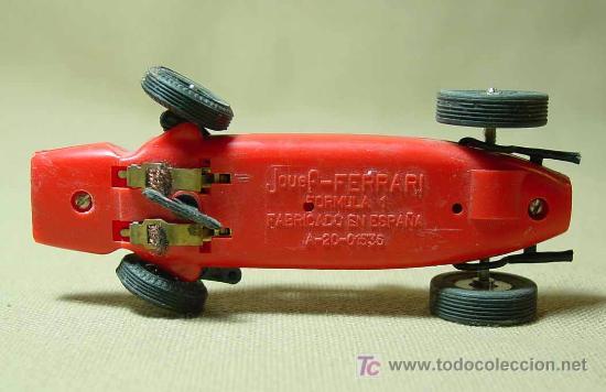 Scalextric: RARO SLOT CAR, JOUEF, FERRARI, FORMULA 1, FABRICADO EN ESPAÑA - Foto 4 - 22243674
