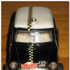 Scalextric: SCALEXTRIC UK - MINI COOPER RALLY C7 NEGRO - AÑO 1.968 APROX.. Lote 26449243