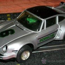 Scalextric: SCALEXTRIC SCX UK COCHE PORSCHE 911 PLATA AÑOS 70. Lote 30394656