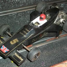 Scalextric: SCALEXTRIC SCX UK COCHE FORMULA 1 LOTUS JOHN PLAYER SPECIAL AÑOS 70. Lote 26309609