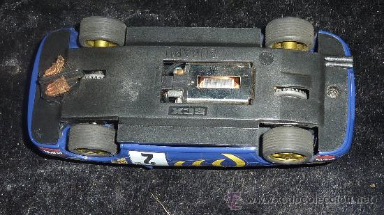 Scalextric: coche de scalextric antiguo. Subaru. CAT? Catalunya? - Foto 6 - 100651162