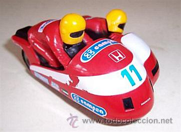 MOTO CON SIDECAR - SCALEXTRIC REF.C238 - MADE IN ENGLAND (Juguetes - Slot Cars - Scalextric SCX (UK))