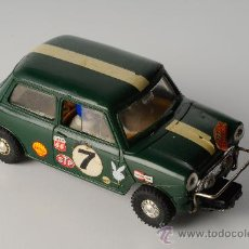 Scalextric: COCHE SCALEXTRIC AUSTIN MINI COOPER REF. C-76, MADE IN ENGLAND. Lote 26975627