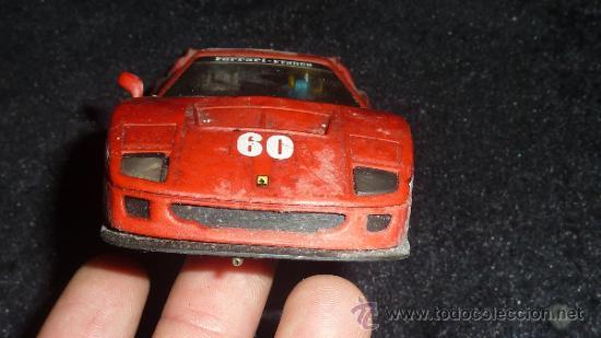 Scalextric: Lote de 6 coches de scalextric antiguos. Desconozco del tema, ver fotos. - Foto 3 - 133584398