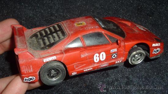 Scalextric: Lote de 6 coches de scalextric antiguos. Desconozco del tema, ver fotos. - Foto 5 - 133584398