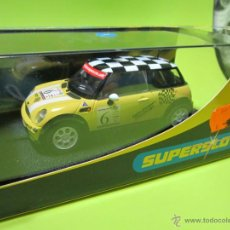 Scalextric: BMW MINI COOPER NUEVO SUPERSLOT. Lote 40574173
