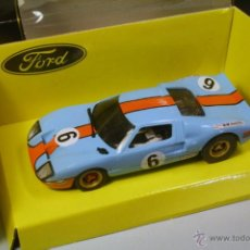 Scalextric - SCALEXTRIC SCX. Ford GT 40 LeMans 1969 Gulf nº6. Repintado. - 42013522