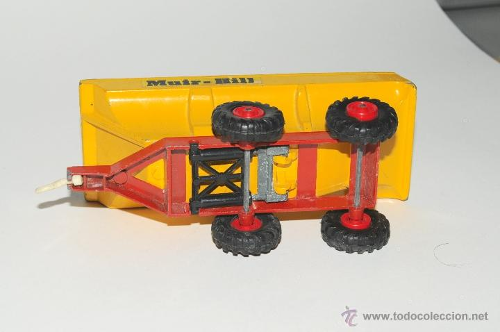 Scalextric: TRACTOR CON REMOLQUE, MASSEY FERGUSON MATCHBOX MADE IN ENGLAND 1978 - Foto 6 - 42403913