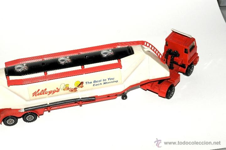 Scalextric: CAMION BEDFORD GRAIN TRANSPORTER K 3 MATCHBOX MADE IN ENGLAND 1979 - Foto 3 - 42404009