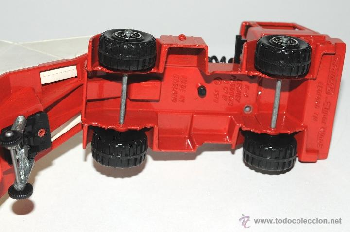 Scalextric: CAMION BEDFORD GRAIN TRANSPORTER K 3 MATCHBOX MADE IN ENGLAND 1979 - Foto 5 - 42404009
