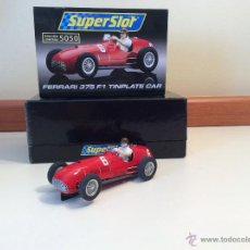 Scalextric: FERRARI 375 F1 SUPERSLOT. Lote 45276064