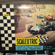Scalextric: CAJA SCALEXTRIC TRIANG MADE IN FRANCE GP 33 SIN COCHES. Lote 47517596
