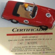 Scalextric: COCHE SCALEXTRIC MERCEDES 250 SL SPORT EDICION VINTAGE LIMITADA CON CERTIFICADO Y CAJA ORIGINAL. Lote 47999120