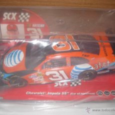 Scalextric: SCX NASCAR Nº31, CHEVROLET IMPALA SS.F.BURTON. Lote 50415006