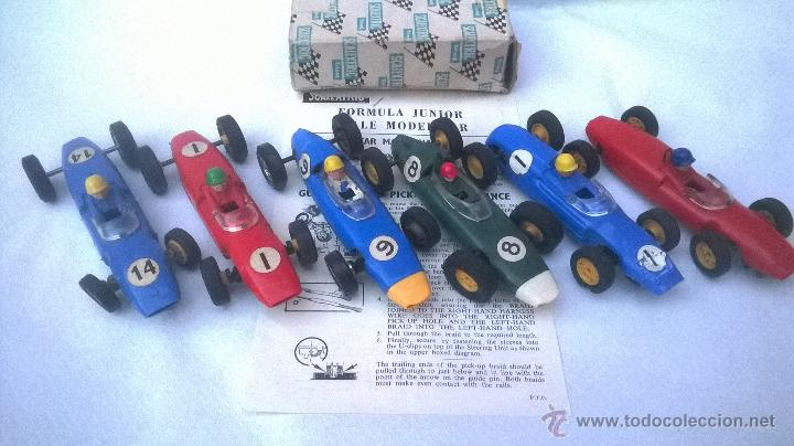 TRI-ANG TRIANG TRI ANG SCX SCALEXTRIC 1960´S MADE IN ENGLAND VINTAGE ( 6 FORMULAS ) (Juguetes - Slot Cars - Scalextric SCX (UK))