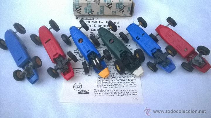 Scalextric: SEIS COCHES VINTAGE SCALEXTRIC 1960´s - Foto 2 - 222804063