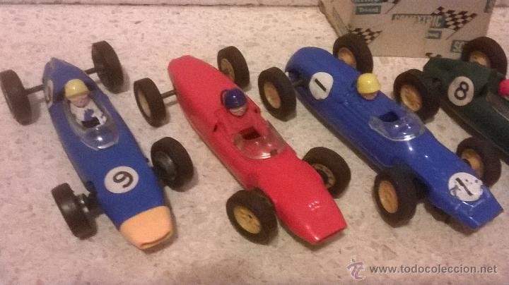 Scalextric: TRI-ANG triang tri ang scx SCALEXTRIC 1960´s MADE IN ENGLAND VINTAGE ( 6 FORMULAS ) - Foto 4 - 222804063