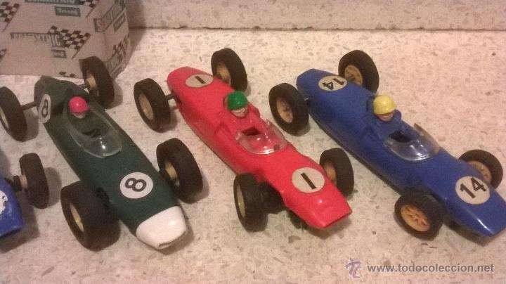 Scalextric: TRI-ANG triang tri ang scx SCALEXTRIC 1960´s MADE IN ENGLAND VINTAGE ( 6 FORMULAS ) - Foto 5 - 222804063