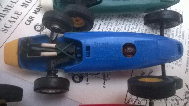 Scalextric: TRI-ANG triang tri ang scx SCALEXTRIC 1960´s MADE IN ENGLAND VINTAGE ( 6 FORMULAS ) - Foto 8 - 222804063