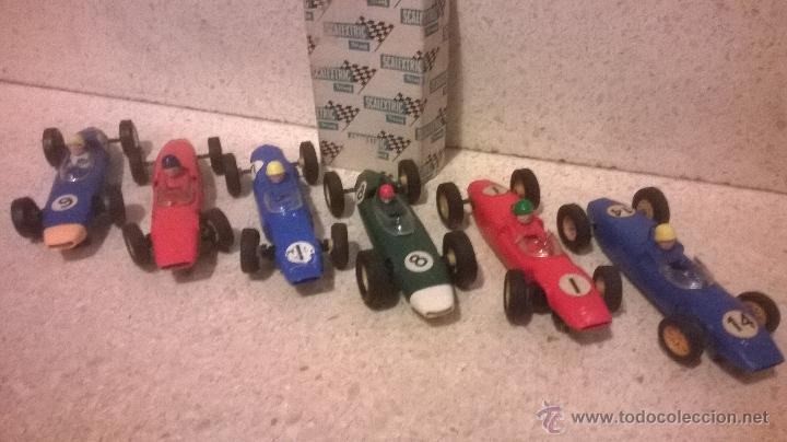 Scalextric: TRI-ANG triang tri ang scx SCALEXTRIC 1960´s MADE IN ENGLAND VINTAGE ( 6 FORMULAS ) - Foto 12 - 222804063