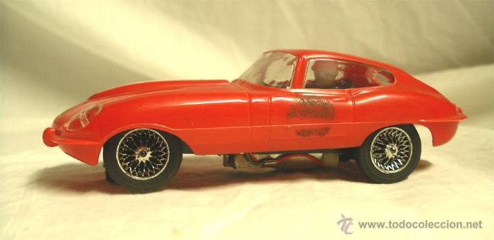 JAGUAR XKE REFERENCIA 9620 STROMBECKER, COLOR ROJO, TODO DE ORIGEN (Juguetes - Slot Cars - Scalextric SCX (UK))