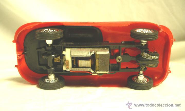 Scalextric: JAGUAR XKE REFERENCIA 9620 Strombecker, color rojo, todo de origen - Foto 5 - 54836541
