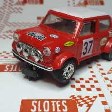 Scalextric: MINI COOPER - MONTE CARLO - #37 LIMITED EDITION | HORNBY | SCALEXTRIC UK | - 45. Lote 56219343