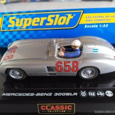 Scalextric: SUPERSLOT SCALEXTRIC INGLES UK MERCEDES BENZ 300 SLR FANGIO. Lote 119036972