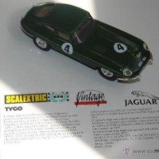 Scalextric: COCHE SCALEXTRIC JAGUAR E EDICION VINTAGE LIMITADA CON CERTIFICADO Y CAJA ORIGINAL. Lote 47999145