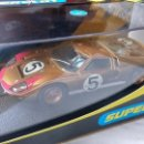 Scalextric: FORD GT MKII 1966 LE MANS Nº5 SUPERSLOT REF. H2465. Lote 60925607