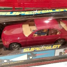 Scalextric: BMW 318I BURDEOS SUPERSLOT SCALEXTRIC REF. H.001. Lote 62497144