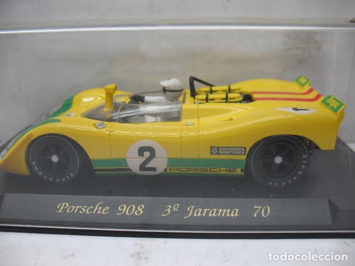 FLY REF: 000C12Z1 - COCHE PORSCHE 908 3º JARAMA 70 (Juguetes - Slot Cars - Scalextric SCX (UK))