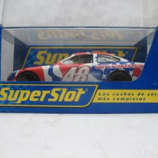 Scalextric: SUPERSLOT REF: H2586 - COCHE FORD TAURUS ASCAR USA/UK. Lote 65737882