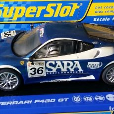 Scalextric: FERRARI F430 GT ESCUDERIA PLAYTEAM – CLUB SUPERSLOT 2007 – REF H2835A. Lote 76464387