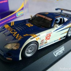 Scalextric: SCALEXTRIC INGLES UK SUPERSLOT DODGE VIPER COMPETITION COUPE MCCANN Nº 82 REF H2523 .CON LUCES. Lote 82670272