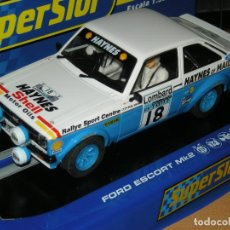 Scalextric: FORD ESCORT MKII SUPERSLOT/SCALEXTRIC UK. Lote 89435904